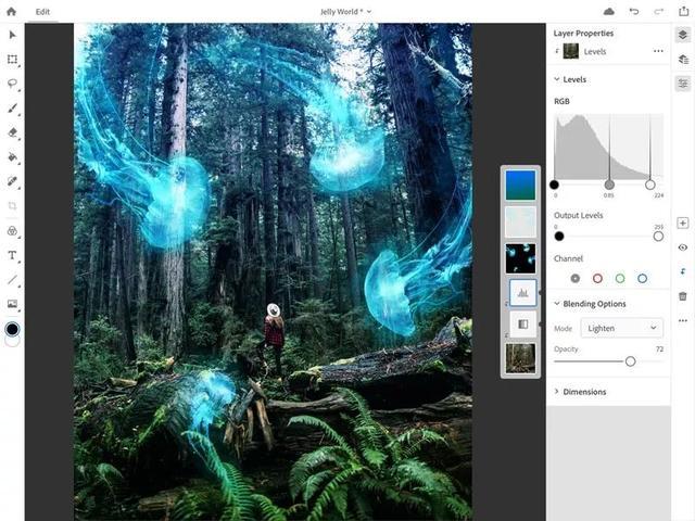 完整版Photoshop正式登录iPad啦!iPad和电脑可同步