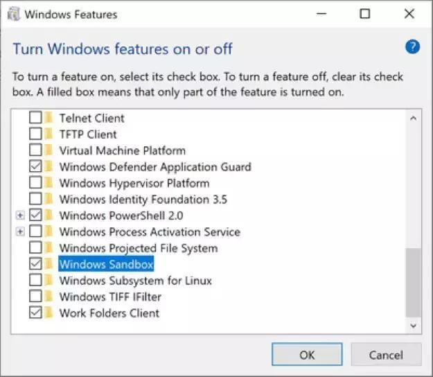 运用 Windows Sandbox 打造容器轻量级桌面环境