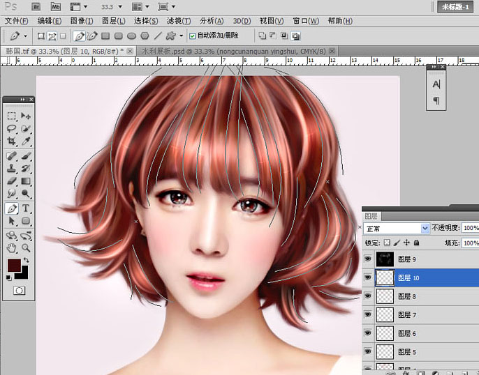 转手绘,通过PS把人物头像制作成仿手绘效果_www.16xx8.com