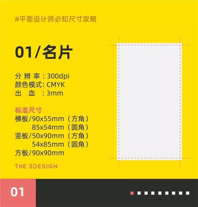 干货:平面设计师必知设计尺寸规范攻略